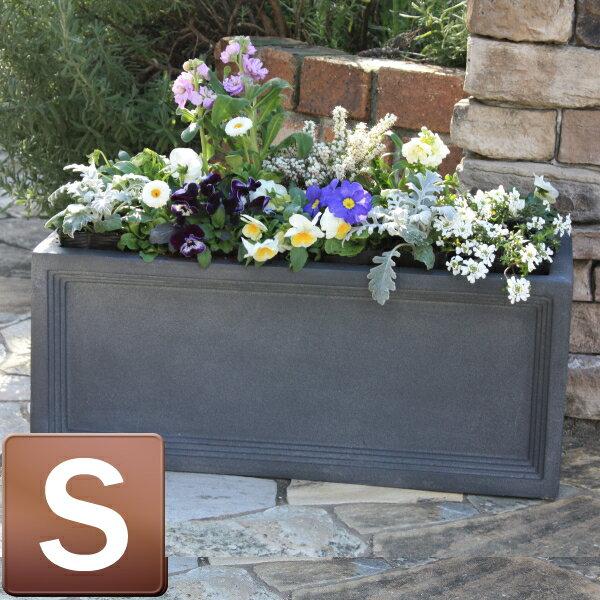 /グラスファイバー製植木鉢/リードライトLLブリティッシュ Pプランター Sサイズ/B-1/RCP/05P03Sep16/【HLS_DU】 樹脂とガラス繊維を混ぜたファイバー製植木鉢。