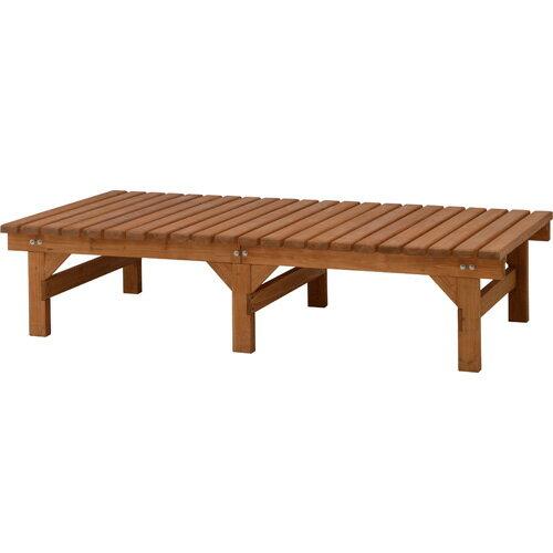 木製縁側 DX縁台 180×90 ナチュラル / ウッドデッキ 縁台 /RCP/05P03Sep16/【HLS_DU】