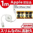 【メール便送料無料】apple認証 iphone 巻き取りケ...
