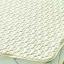 [5%OFF]西川リビング Body Wool 洗える羊毛ベッドパッドセミダブルサイズ(120×200cm) 098