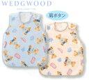 【東京西川】【ベビー・赤ちゃん用】【WEDGWOOD(ウェッジウッド)】ロンドンベアコットンスリーパー33×57cm WW3610