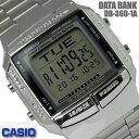 カシオ CASIO メンズ 腕時計 データバンク 海外モデル DB-360-1A シルバー チプカシ チープカシオ CASIO DATA BANK 防水 多機能 プレゼント ギフト おすすめ