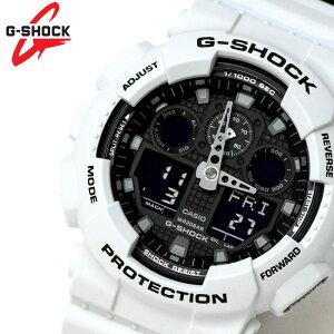 カシオ CASIO Gショック G-SHOCK アナデジ メンズ 腕時計 ブラック 白 グレーGA-100L-7A ラッピング無料可能 ランキング おすすめ かっこいい 大人 アウトドア おすすめ ギフト クリスマス ラッピング無料可能 プレゼント おしゃれ 【腕時計】 ランキング 流行 激安