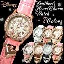 ミッキーマウス ミッキー 腕時計 レディース レディス 腕時計 ハート ミッキー 腕時計 スワロフスキー ハート チャーム プレゼント Disney MickeyMouse Mickey LADIE'S LADY'S LADIES' とけい うでどけい WATCH レディース  腕時計