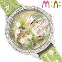 腕時計 レディース ミニ mini キッズ 革ベルト ブランド 個性的 可愛い ガールズ 小鳥 ガーデン キラキラ ラインスト…