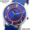 サクスニーイザック SACCSNY Y'SACCS sya-15095 腕時計 メンズ レディース ユニセックス 雑誌 ドラマ 新垣結衣 ブランド ブルー 青 オレンジ 橙