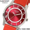 サクスニーイザック SACCSNY Y'SACCS sya-15095 腕時計 メンズ レディース ユニセックス 雑誌 ドラマ 新垣結衣 ブランド レッド 赤