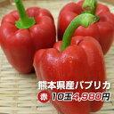 パプリカ赤【M/Lサイズ混み20玉】九州/野菜/熊本/送料無料/新鮮/安全/
