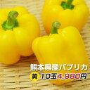 パプリカ黄【M/Lサイズ混み20玉】九州/野菜/熊本/送料無料/新鮮/安全/
