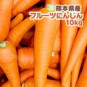 【訳あり】ジュース用にオススメ!びっくりするくらいあま〜い♪熊本県菊陽町産 フルーツにんじん【10kg】九州/野菜/熊本/新鮮/安全/