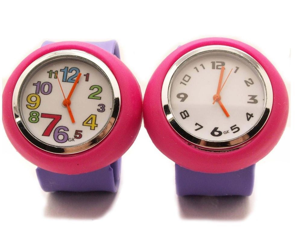 メンズ時計/レディース時計/子供時計/オモチャ/ファション時計/カラフル時計/巻きつく時計/シリコーン時計/ゼリー時計/腕時計/(丸)ピンクパープル 10P03Dec16