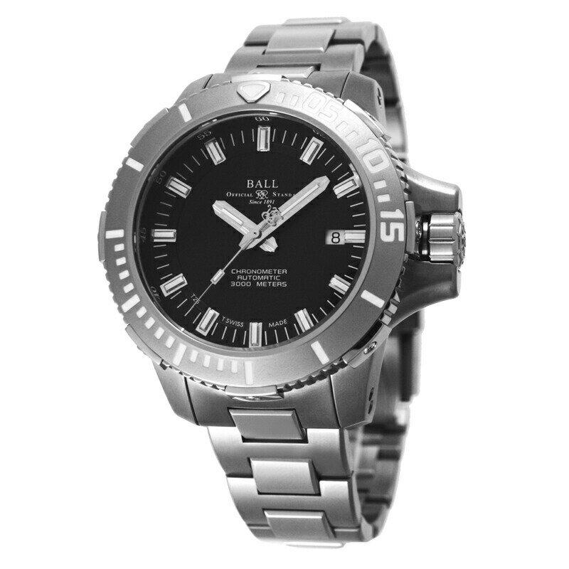 ボールウォッチ BALLWATCH メンズ腕時計 DM3000ASCJ ディープクエスト ブラック