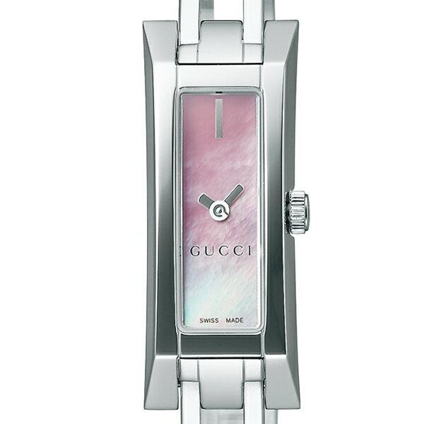 グッチ GUCCI 腕時計 G-LINK ピンクパール YA110520