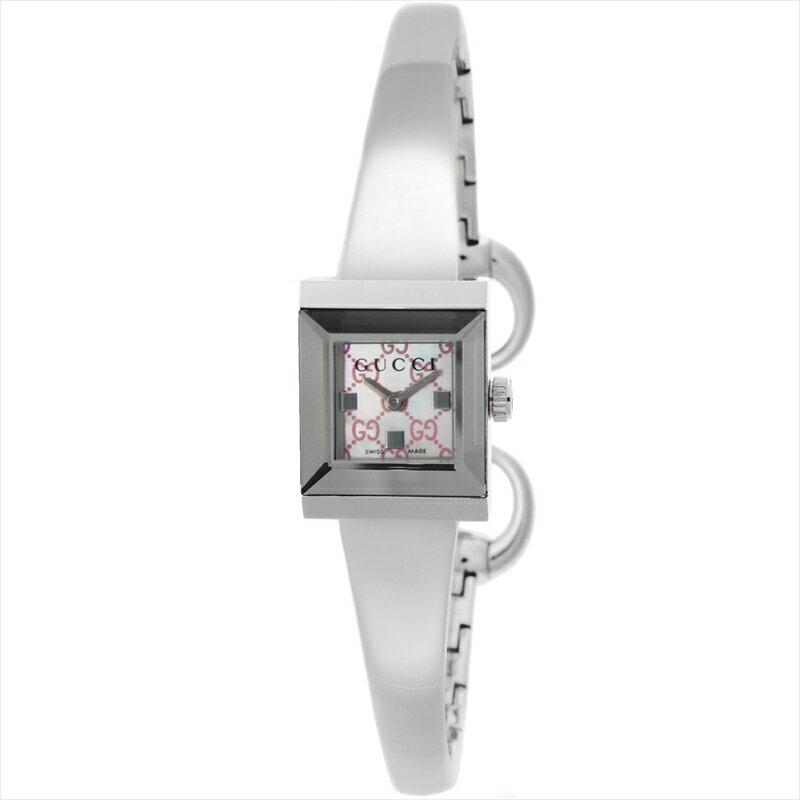 グッチ GUCCI 腕時計 G-FRAME ピンクパール YA128516