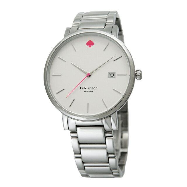 ケイトスペード kate spade Gramercy グラマシー レディース 腕時計 シルバー×ホワイト 1YRU0008 WH