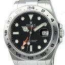 【全品ポイント10倍〜12/17 9:59】ロレックス ROLEX エクスプローラー2 メンズ 腕時計 ブラック 216570