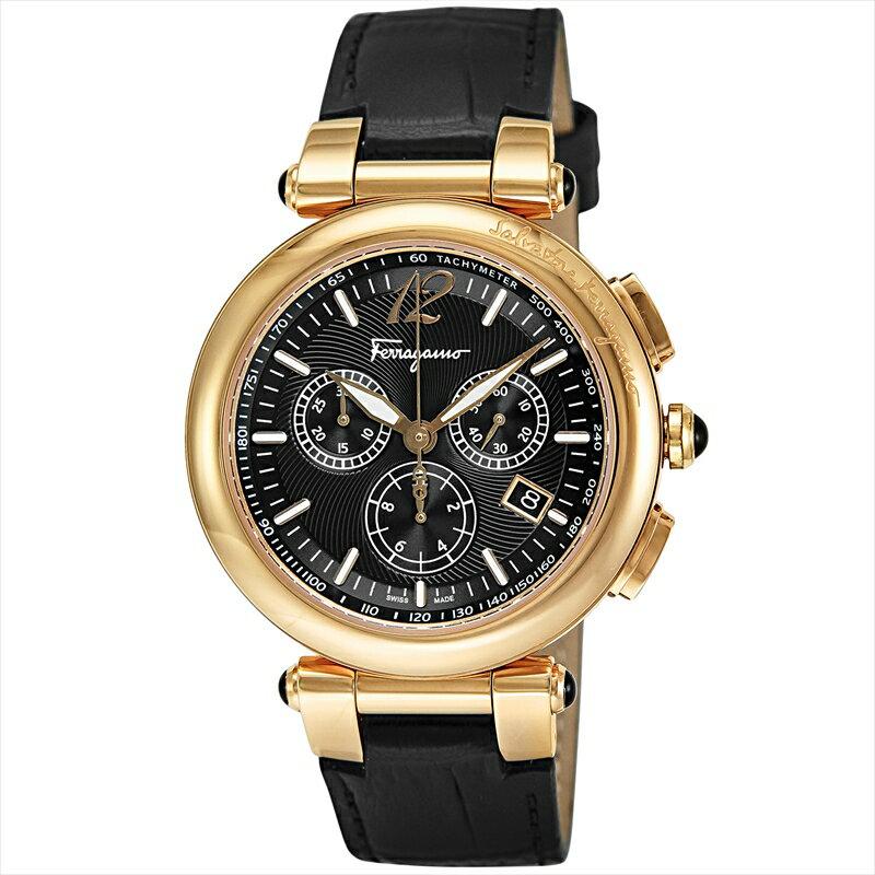 サルヴァトーレ・フェラガモ Salvatore Ferragamo メンズ腕時計 イディリオ F77LCQ5009SB09 ブラック