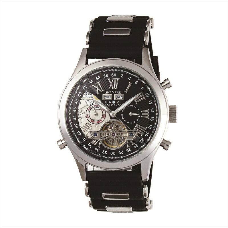 ゾンネ SONNE 腕時計 H003 ブラック H003SS-BK 【仕分け】