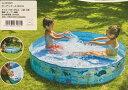 【イガラシ】【空気入れ不要】ガーデンプール【150cm】 水遊び ビニール プール POOL