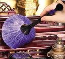 【中村商事】仏壇かんたんお掃除ふで 静電気で汚れを吸着 山羊毛 両端使用可能 仏壇用 仏具 仏前 清掃【RCP】