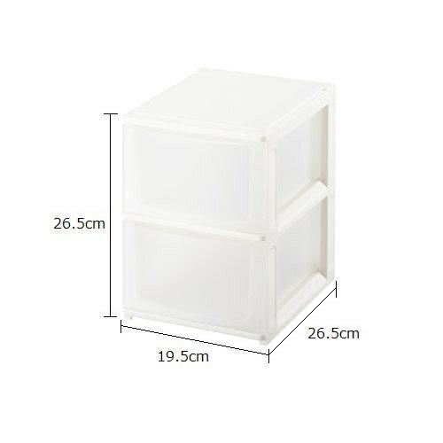 【在庫限り】【サンイデア】ポスデコ【A5深2段】書類ケース 小物入れ 3段ボックス カラーボックス 3段 カラーボックス 2段 収納ボックス【pos'deco】【RCP】