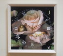 Charlotte bird clock (wall clock): Quiet corner (A Quiet Corner)