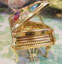 スワロフスキーオーナメント:ピアノ(Lサイズ) 【HLS_DU】