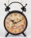 The table clock of the antique brown  rose: Room