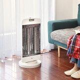 シーズヒーター 暖房器具 ヒーター タイマー付き 最大 1200W 5段階調整 遠赤外線ヒーター 電気ストーブ 遠赤外線 首振り機能 チャイルドロック 安全装置 付き 空気 きれい 【送料無料】