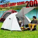 1年保証 テント 4人用 ドームテント ...