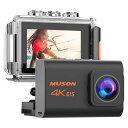 【メーカー直営・100%正規品】MUSON(ムソン) アクションカメラ Pro3 4K 2000万画...