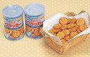 【送料無料】 缶入ミニクラッカー 24缶