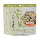【送料無料】 安心米 ひじきご飯 (15食セット) (アルファ米 防災用品 非常食 備蓄保存食)