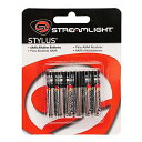 【ゆうパケット可能 3個迄なら送料無料】 treamLight(ストリームライト) 単6アルカリ電池 6本パック スタイラス用
