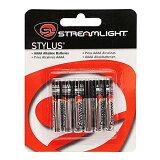 【メール便なら / 5個まで】StreamLight(ストリームライト) 単6アルカリ電池 6本パック スタイラス用