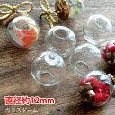 ショッピング最安値 楽天最安値にチャレンジ!!【10個】ガラスドーム(直径約12mm)
