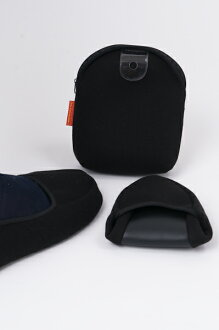 Two folding portable slippers for men and large size L size entrance exams / interviews School Board description of formal