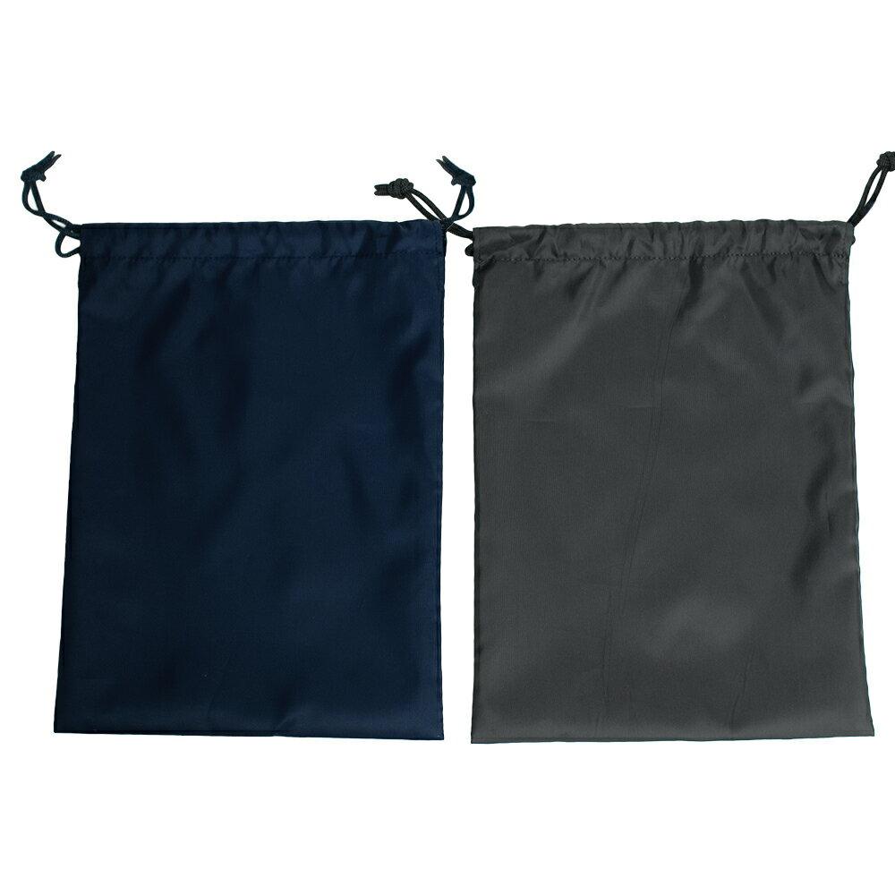 ナイロン製靴袋(下足入れ)【紺】【黒】お受験の際の靴収納に大活躍!【あす楽】