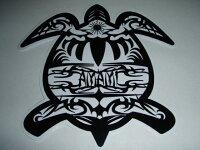 HONU TRIBALAMAMI STICKERホヌ(ウミガメ)トライバル柄 奄美 ステッカーの画像