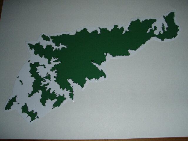 奄美大島 MAP ステッカー