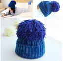 ニット帽 キッズ 子供帽子 女の子 子供 防寒 ジュニア 帽子 冬 こども ニット帽子 ボンボン付き かわいい ニット帽子 子ども 冬 ニット