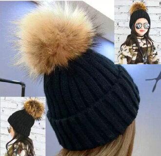 ☆ 冬季配件孩子針織的帽 ☆ 兒童帽子針織帽子小孩帽子徽章 Bon Bon 兒童針織帽子針織帽帽小兒童和