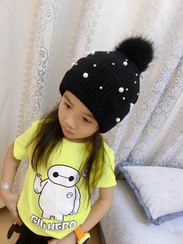 期間限定・値引きクリスマスプレゼント子供冬小物子供ニット帽こども帽子キッズ帽子ニット帽子ポンポン冬小