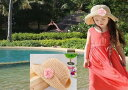 【ネコポス便 送料無料】子供 帽子 夏 リゾート 女の子 帽子 ペーパーハットキッズ 子供 麦わら帽子 ペーパーハット 子ども