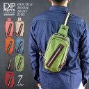 ☆-realdesign LIFE&WORKS ダブルルームボディバッグ/ボディバッグ 斜め掛け ショルダーバッグ メンズバッグ バッグ realdesign LIFE&WORKS RCU-106 カバン 鞄 アウトドア フェス 旅行
