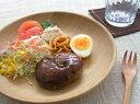 木製食器 - 木製のお皿(23cm) 木皿 木製食器 パスタからサラダなどにもオーク(楢)0405