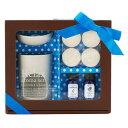 アロマセット スイート ブルー リボン付き/Sweet aroma set/プチギフト プレゼント かわいい ギフト プレゼント