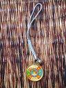 チベット仏教のお守りストラップその1/エスニック/アジアン雑貨(DM便選択で送料99円)