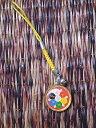 チベット仏教のお守りストラップその2/エスニック/アジアン雑貨(DM便選択で送料84円)