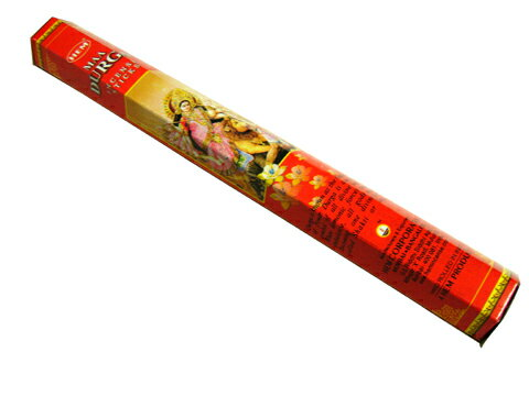 お香 ドゥルガー香 スティック /HEM MAA DURGA/インセンス/インド香/アジアン雑貨(ポスト投函配送選択可能です/6箱毎に送料1通分が掛かります)